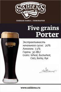 Salden's Five Grains Porter