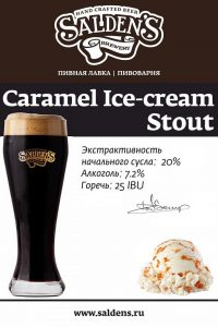 Saldens Caramel Ice Cream Stout