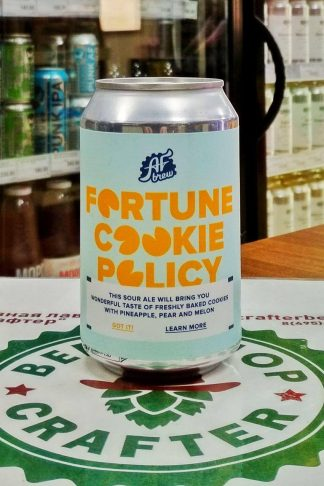 Fortune Cookie Policy - AF Brew